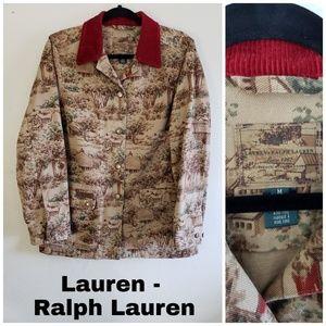 Lauren Ralph Lauren barn chore coat jacket medium